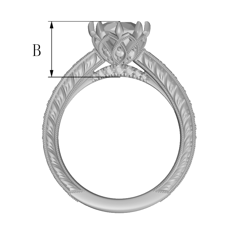 Alina 14k white gold round straight engagement ring er14649r4w44jj diagram example ccuart Images
