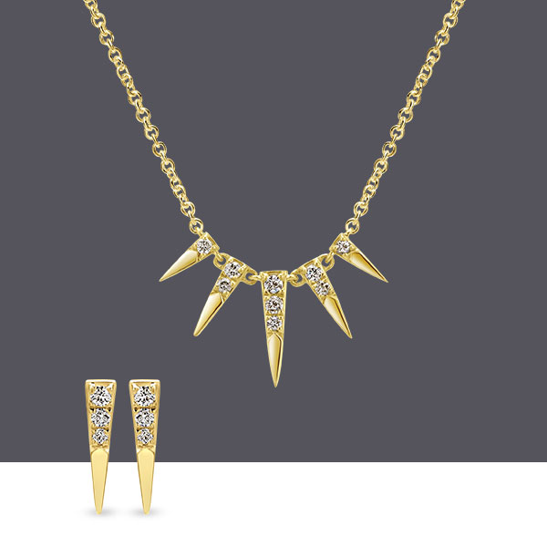 Gaby Gabriel & Co Necklace-Earring