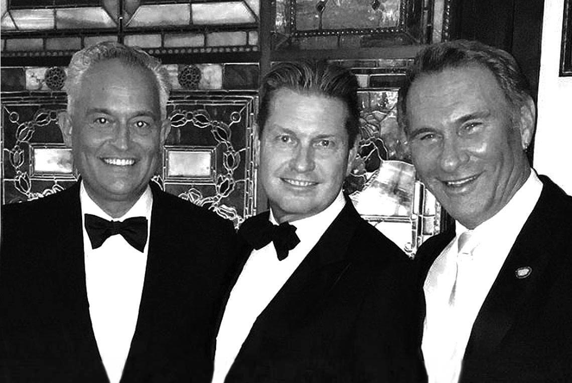 Mark Badgley & James Mischka With Hal Rubenstein