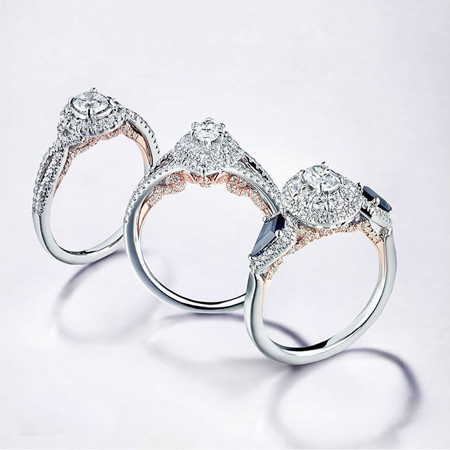 Gabriel & Co Engagement Rings Adore