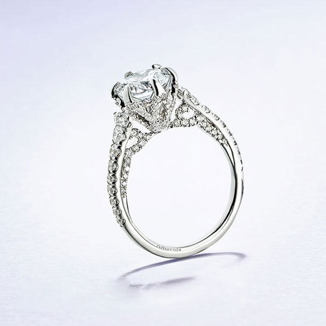 Gabriel & Co Engagement Rings Amavida