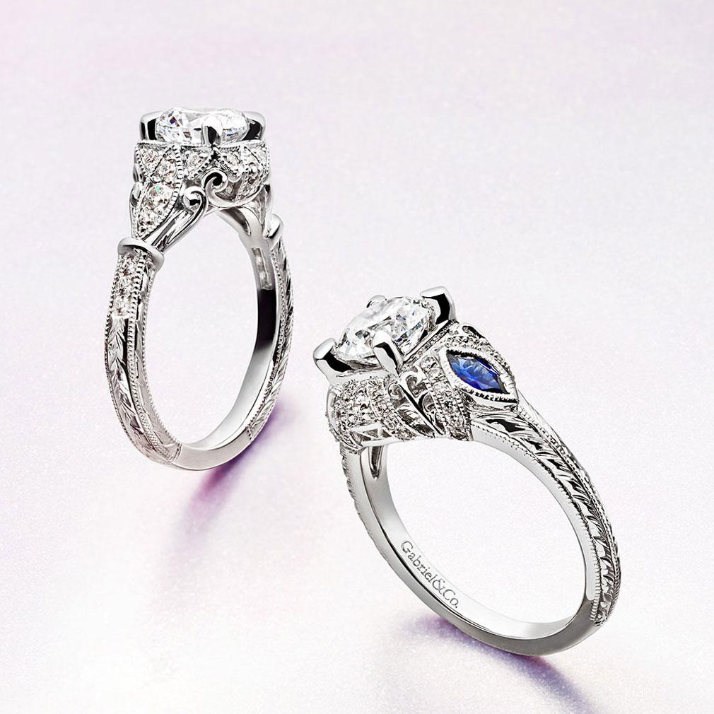 Gabriel & Co Engagement Rings Empire