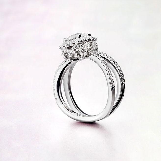 Gabriel & Co Engagement Rings Rosette