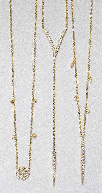 Gabriel & Co Necklaces