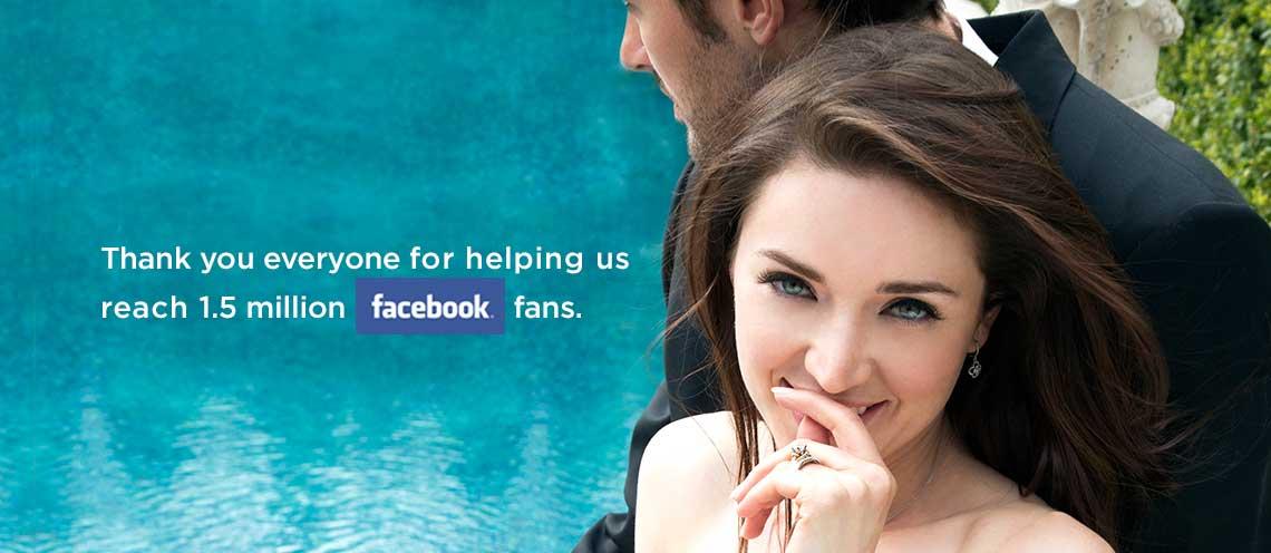 1.5 million facebook fans