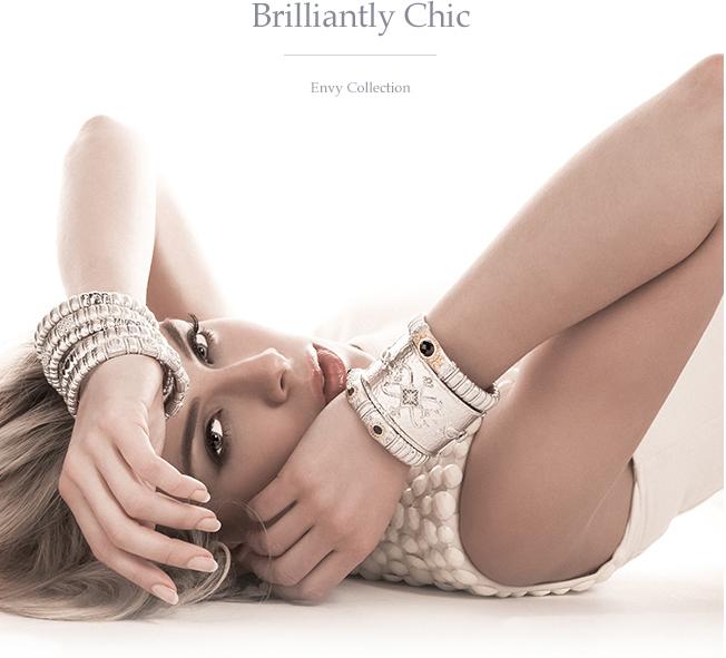brilliantly chic bracelets