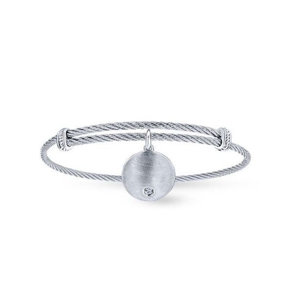 stainless-steel--white-sapphire-charm-bangle