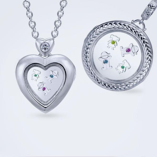 silver-locket-necklaces